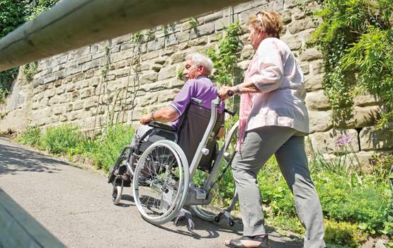 Pushing a Wheelchair Safely: Health Tip