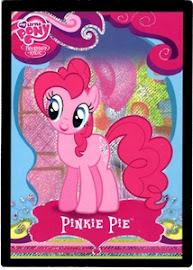 My Little Pony Pinkie Pie Series 1 Trading Card