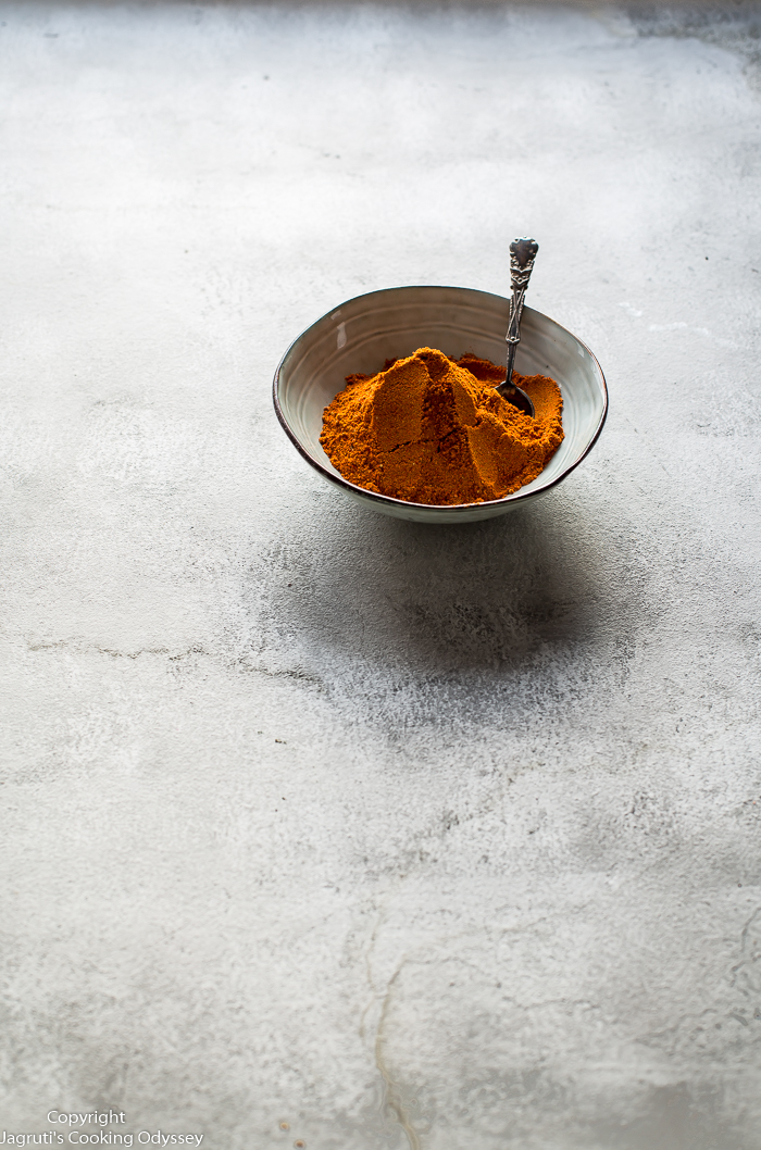 Homemade Indian Curry Masala Powder