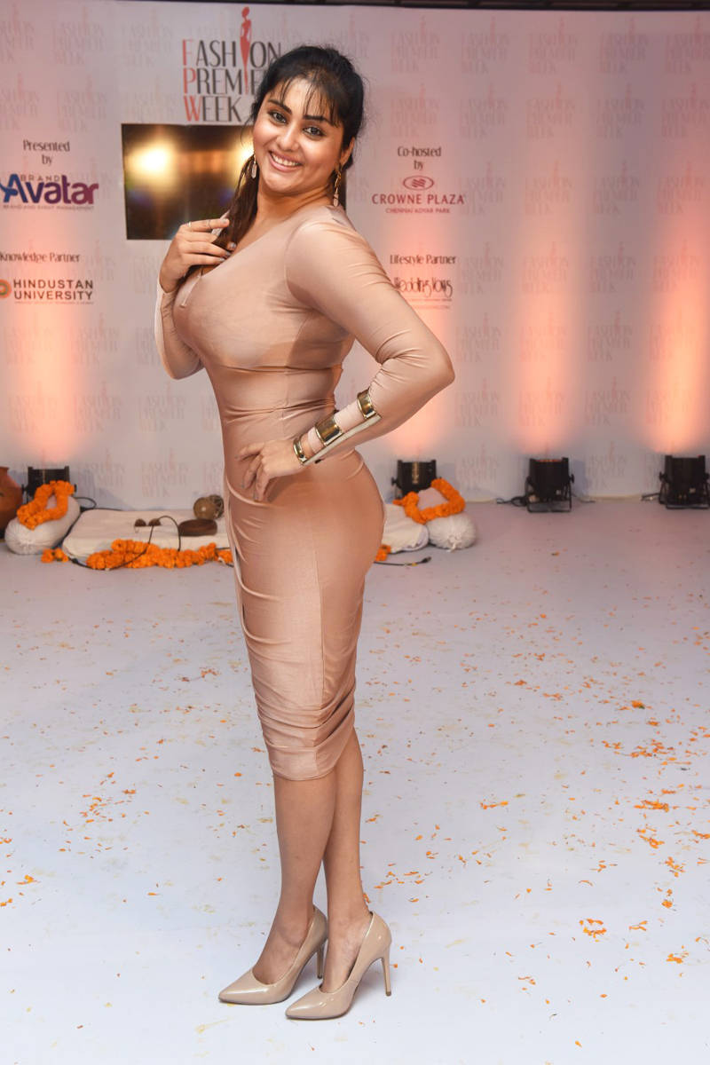 Namitha Hot Chennai Fashion Premier Week Photos