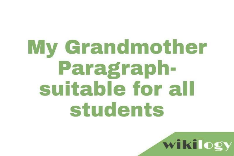 Grandmother Paragraph
