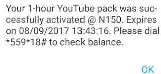 MTN YouTube Data Plans