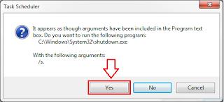 Cara Shutdown Otomatis di Windows 7, 8 dan 10