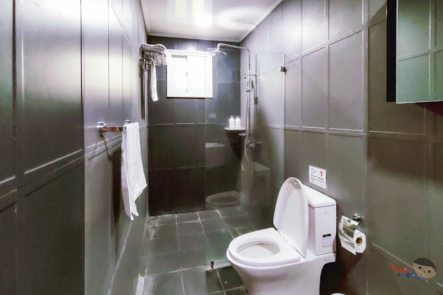 Bathroom of ON Villas, The Pad, Clark, Pampanga