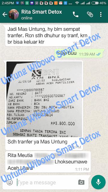 harga smart detox pelangsing