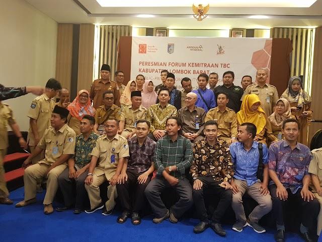 Forum Kemitraan TBC Lombok Barat Resmi Terbentuk