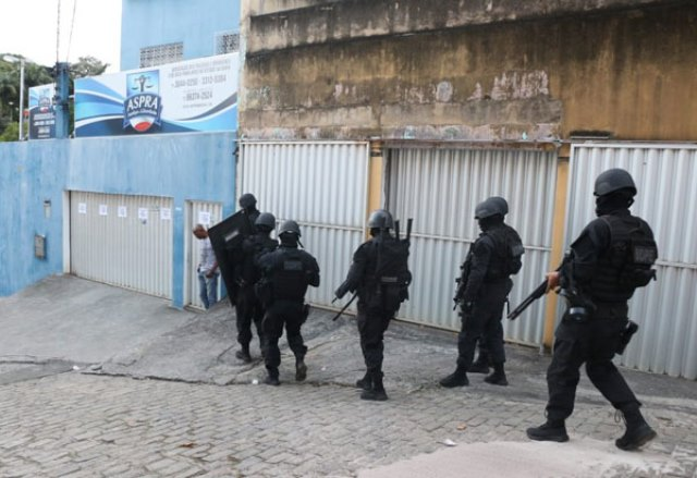 TJ-BA determina desbloqueio de contas da Aspra e reabertura de sedes de associação de PMs
