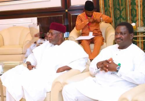 Abba Kyari appeared to me in a dream – President Buhari's aide, Femi Adesina