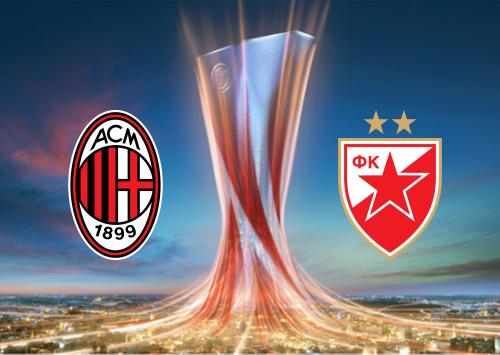 Milan vs Crvena Zvezda -Highlights 25 February 2021
