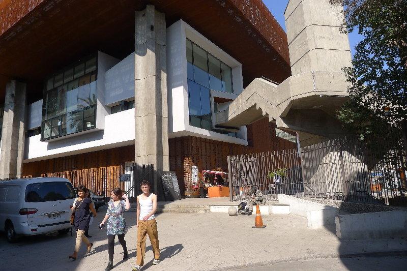 CENTRE FOR THE AESTHETIC REVOLUTION: SANTIAGO DE CHILE ART