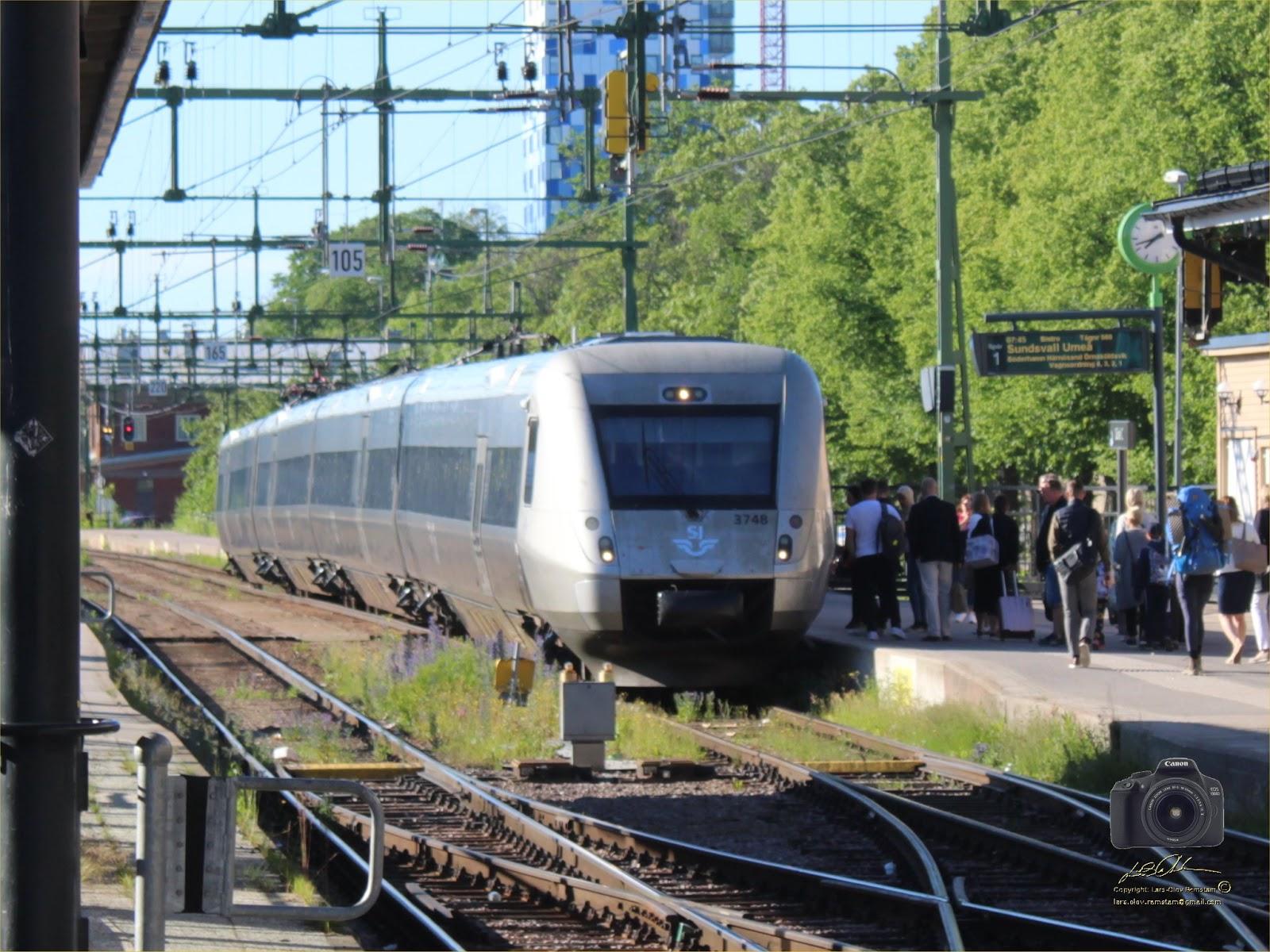 tåg till umeå från stockholm
