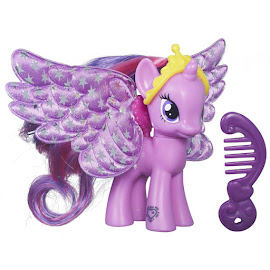 MLP Shimmer Flutters Twilight Sparkle Brushable Figure