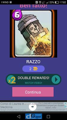 Indovina la carta Royale soluzione livello 15