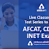 Live Classes and Test Series to crack AFCAT, CDS and INET Exam