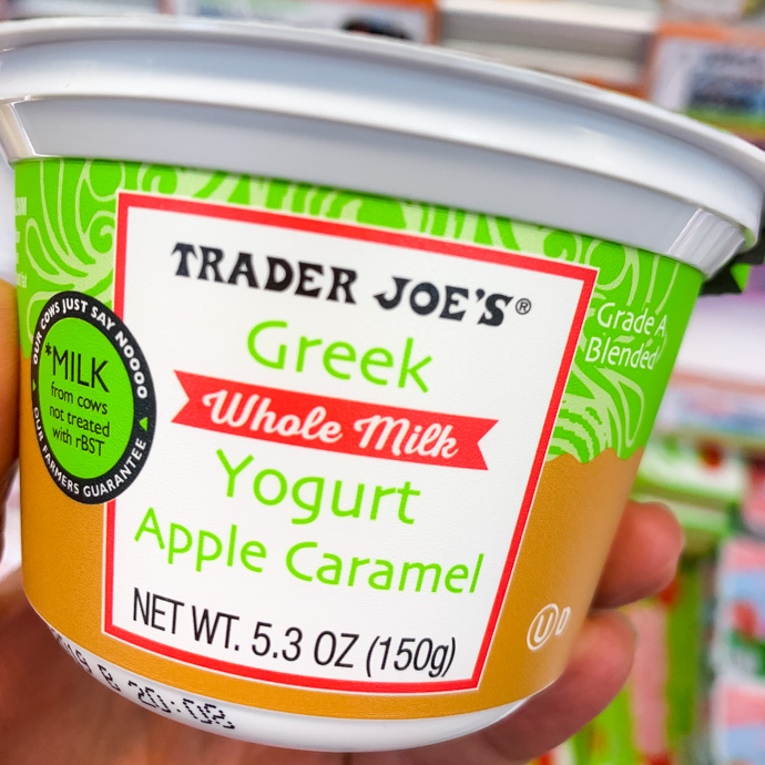 Trader Joe's Apple Caramel Yogurt