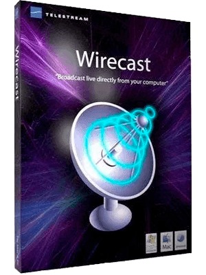 Telestream Wirecast Pro 13.1.0 poster box cover