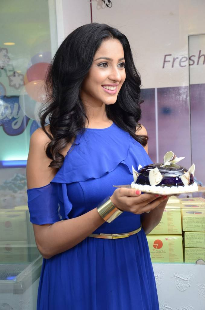 Priya Shri At 7th Heaven Restaurant Launch Gallery