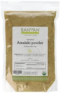 Emblica Officinalis or Amla Powder