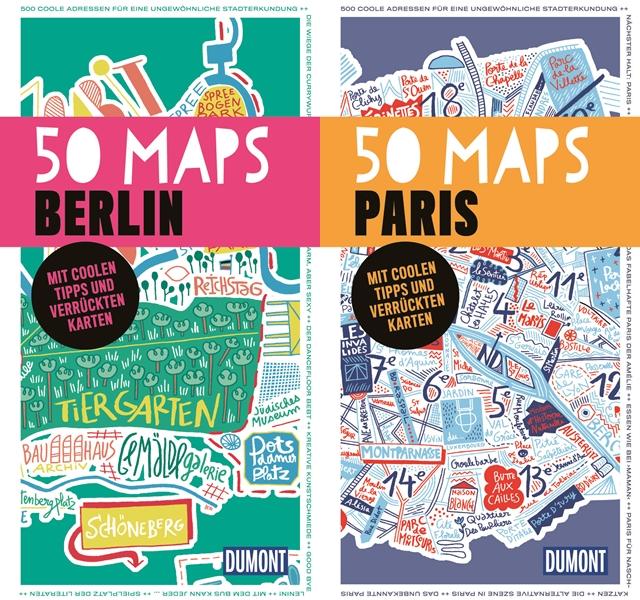 travel giveaway | die 50 maps city guides | new york, london, berlin & paris | luzia pimpinella
