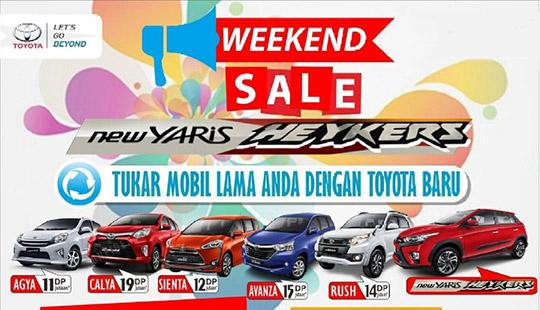 Promo Arina Toyota Gresik Jawa Timur 2017