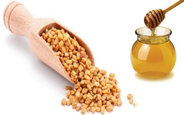 Benefits of fenugreek with Black Honey