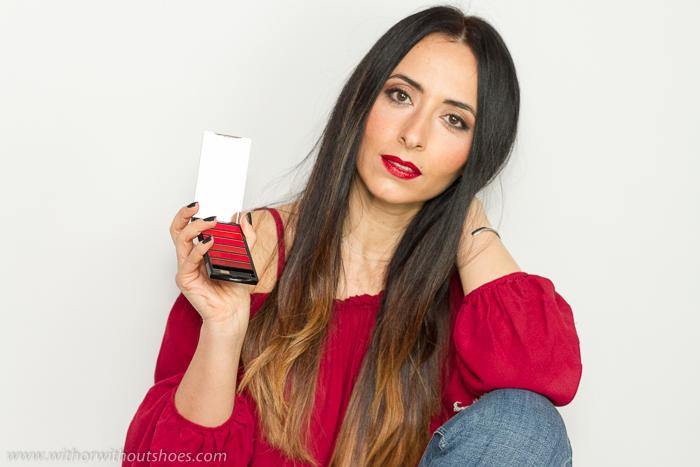 Blogger de belleza con tutoriales de maquillaje y productos de Loreal Paris