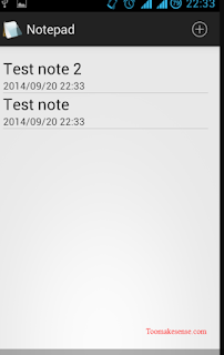 Notepad for Android