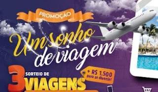 Cadastrar Promoção Marino Supermercados Um Sonho de Viagem