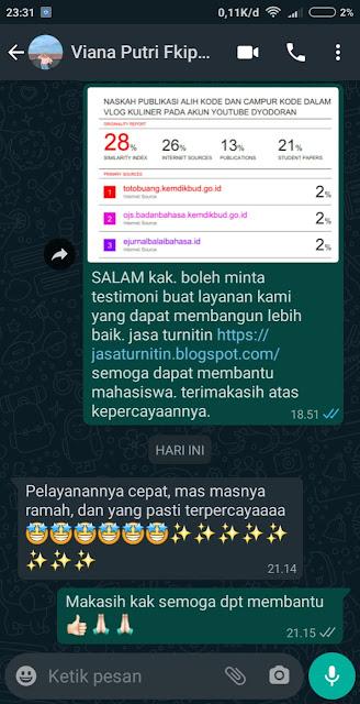 Hasil Turnitin Mbak Viana Putri FKIP UMS