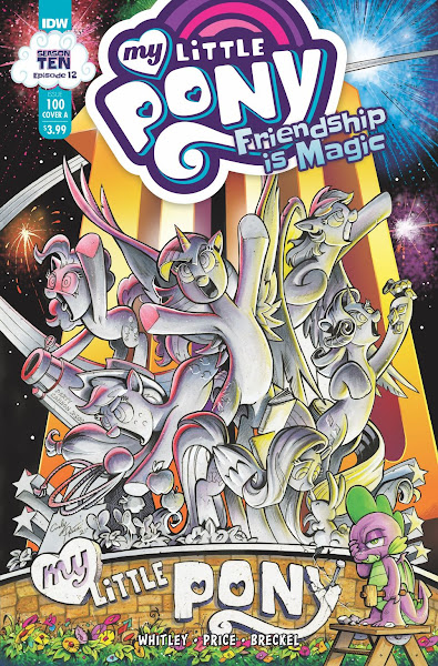 My Little Pony Friendship is Magic #100 Solicitation Revealed