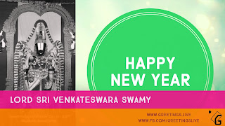 Sri Venkateswara New Year Greetings HD