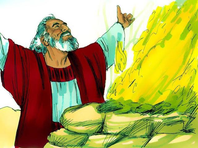 Noah sacrifice to God