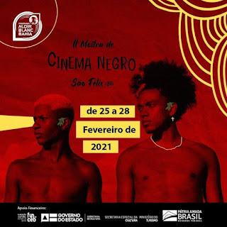 Imagem de divulgação de amostra de cinema em São Felix