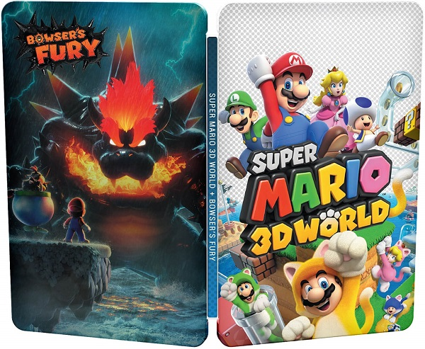 Super Mario 3D World + Bowser's Fury Game Cover
