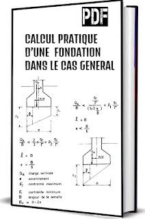 Calcul pratique d'une fondation dans le general pdf