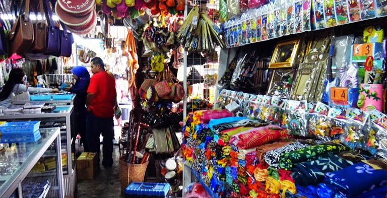 Asia Kinabalu City Handicraft Market Tourist Attraction