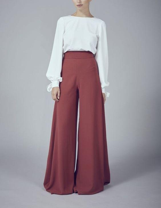 Trend Alert Pantalones Anchos En Todas Las Temporadas Del 2018