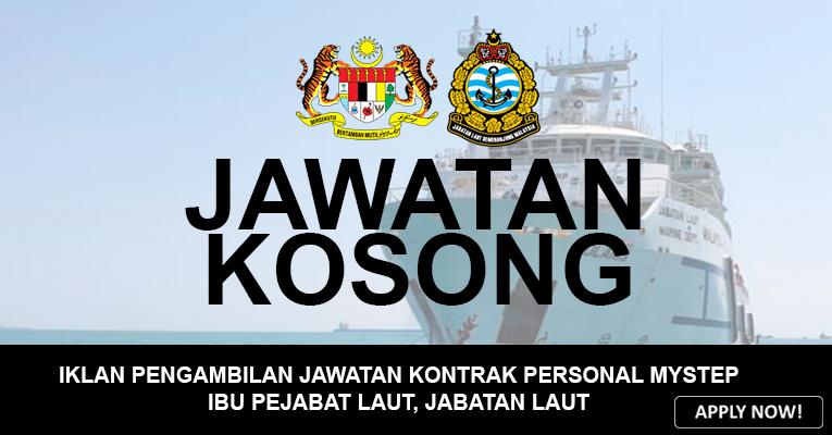 PERMOHONAN JAWATAN KOSONG DI JABATAN LAUT MALAYSIA