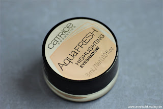 Review: 9 Bloggers Favourites von CATRICE - Aqua Fresh Highlighting Lidschatten - www.annitschkasblog.de
