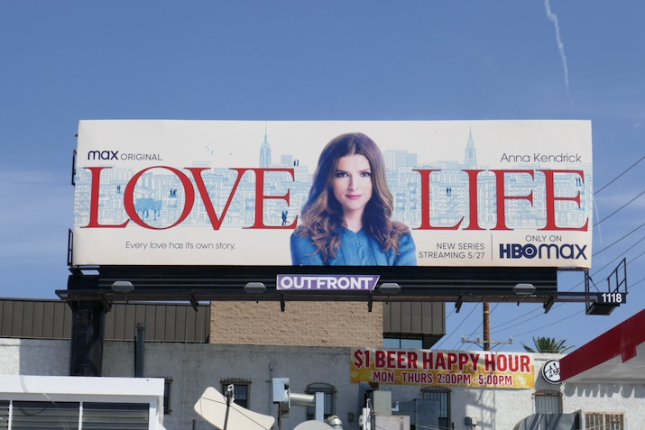 Love Life season 1 billboard