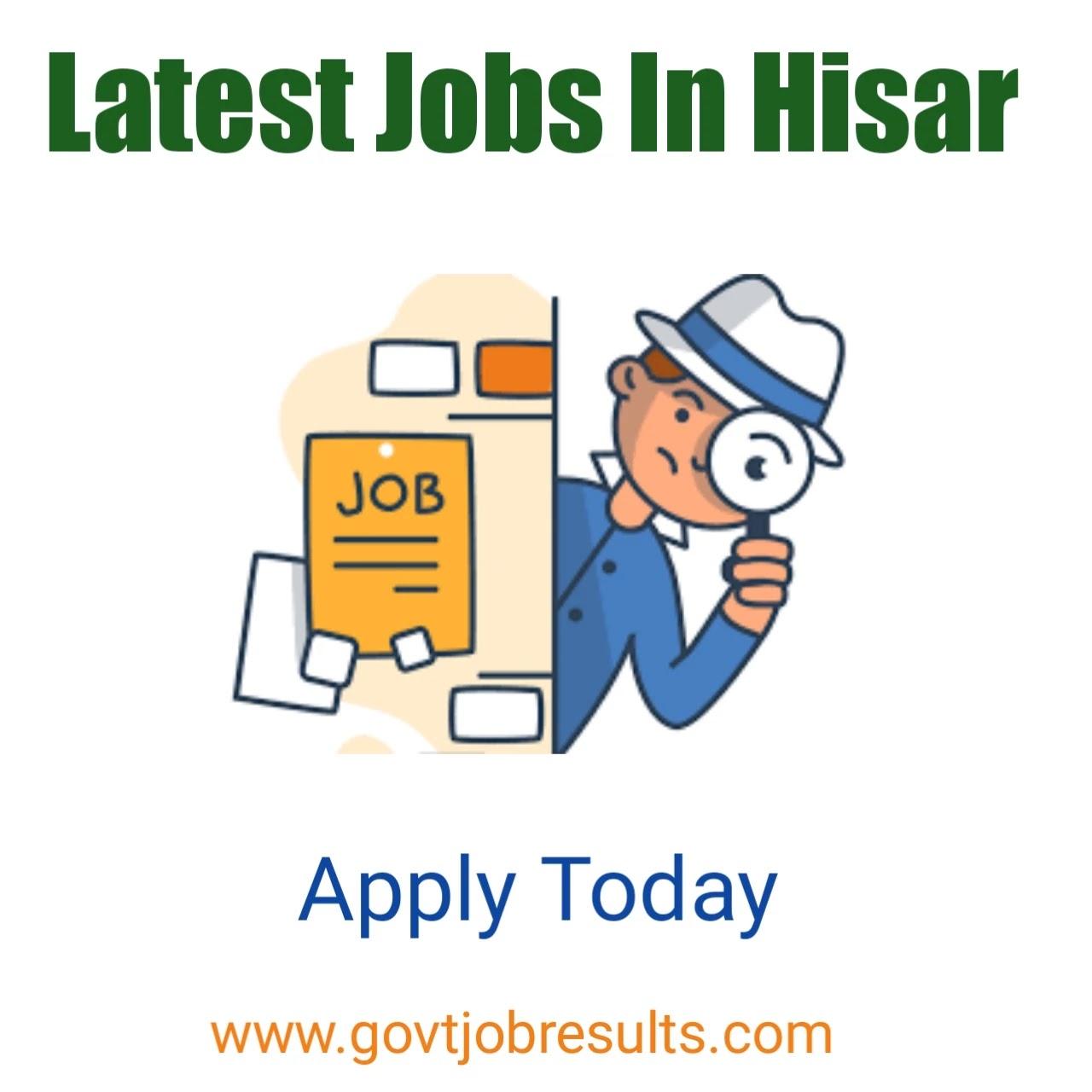 jobs in hisar