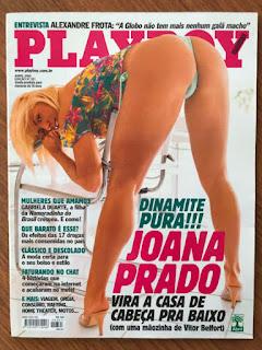 Vitor Belfort S Wife Joana Prado On The Cover Of Playboy