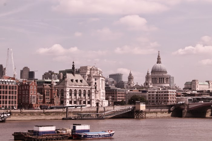 River Thames // St. Paul's Cathedral // London // Lontoo // top things to do in London