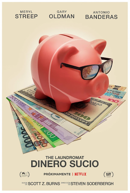 'The Laundromat: Papeles sucios' póster