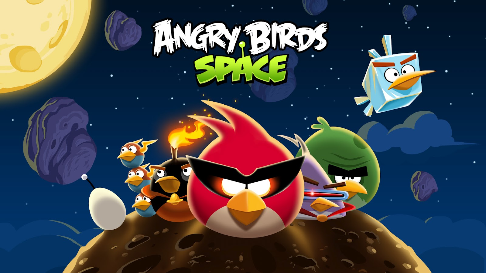 Angry Birds Space Comes to Android