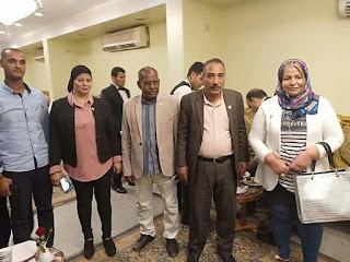 حزب حماة الوطن يشارك كنائس  الأقصر  احتفالات أعياد القيامة  المجيدة
