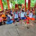 राम मंदिर भूमि पूजन का बेलवाड़ी माई स्थान कार्यकर्ताओं ने दीप प्रज्वलित कर किया स्वागत