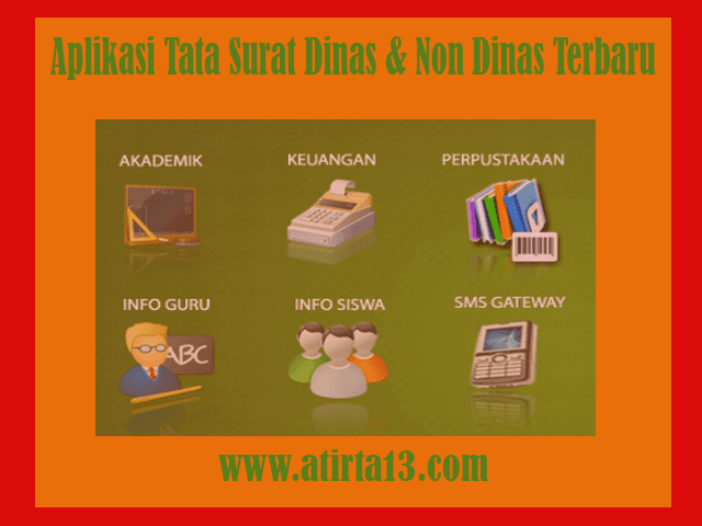 Download Aplikasi Tata Surat Dinas & Non Dinas Terbaru