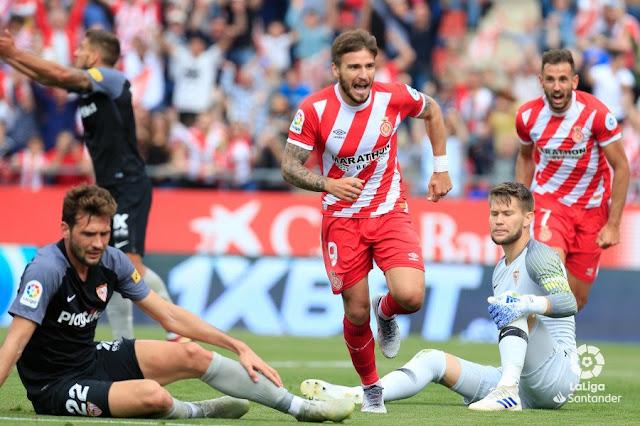 Crónica Girona CF 1 - Sevilla FC 0