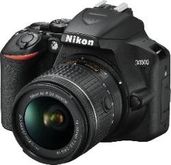 Nikon spiegelreflexcamera met lens